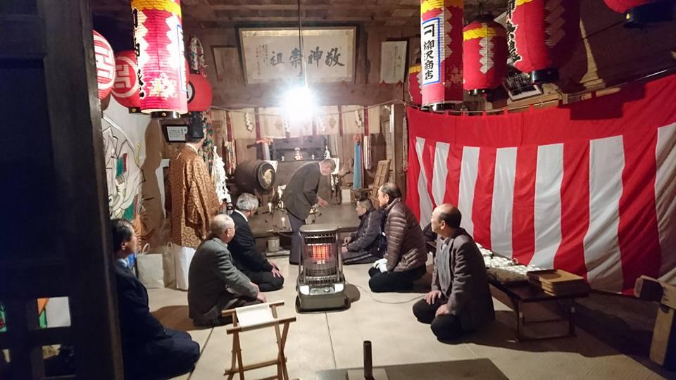 【地元諏訪神社に二年参り】-3