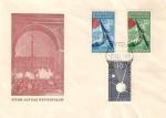 東独・1957年11月7日FDC
