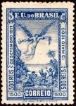 ブラジル・ブラジル発見400年(奴隷解放)