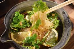 パクチー冷麺