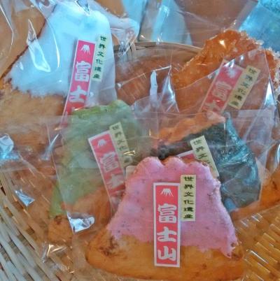 富士山煎餅 5種