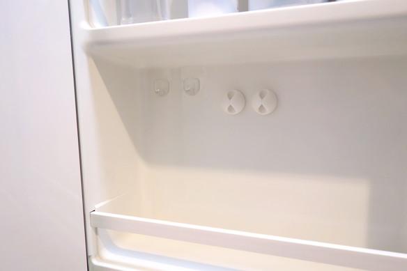 洗面所・洗面台裏・歯ブラシ収納・コードクリップ①