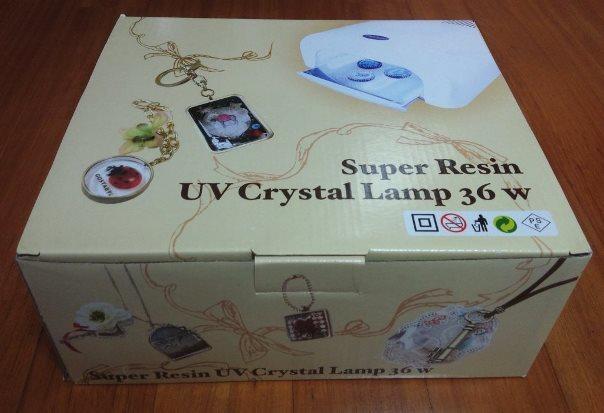 スーパーレジンUVクリスタルランプ36W1