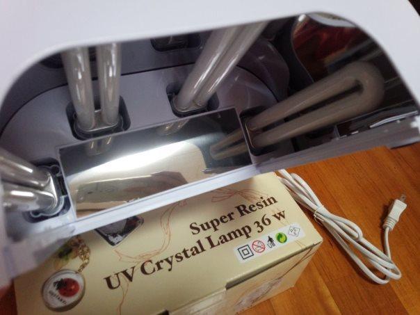 スーパーレジンUVクリスタルランプ36W4