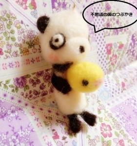 羊毛クマ5