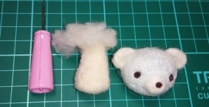 羊毛クマ11