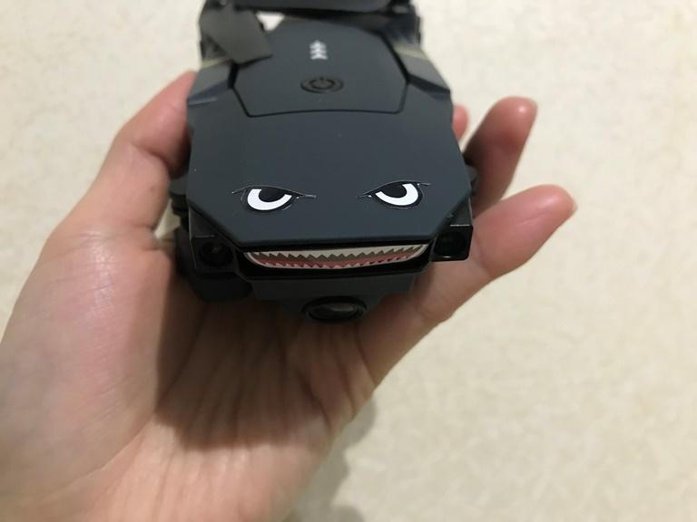 ドローンE58シャークマウス1