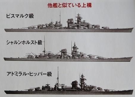 よく似ているドイツ艦