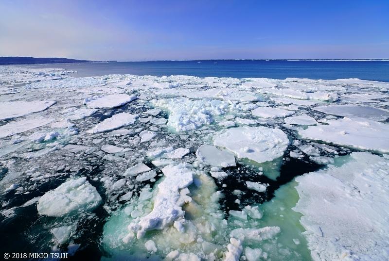 絶景探しの旅 - 0530 青い流氷 (オホーツク海/北海道 網走市)