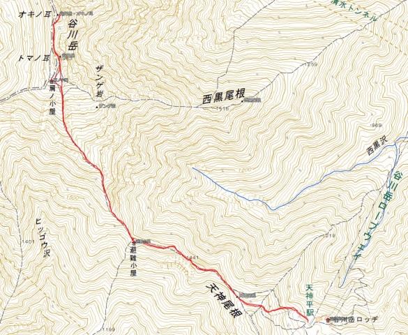 20180303_谷川岳